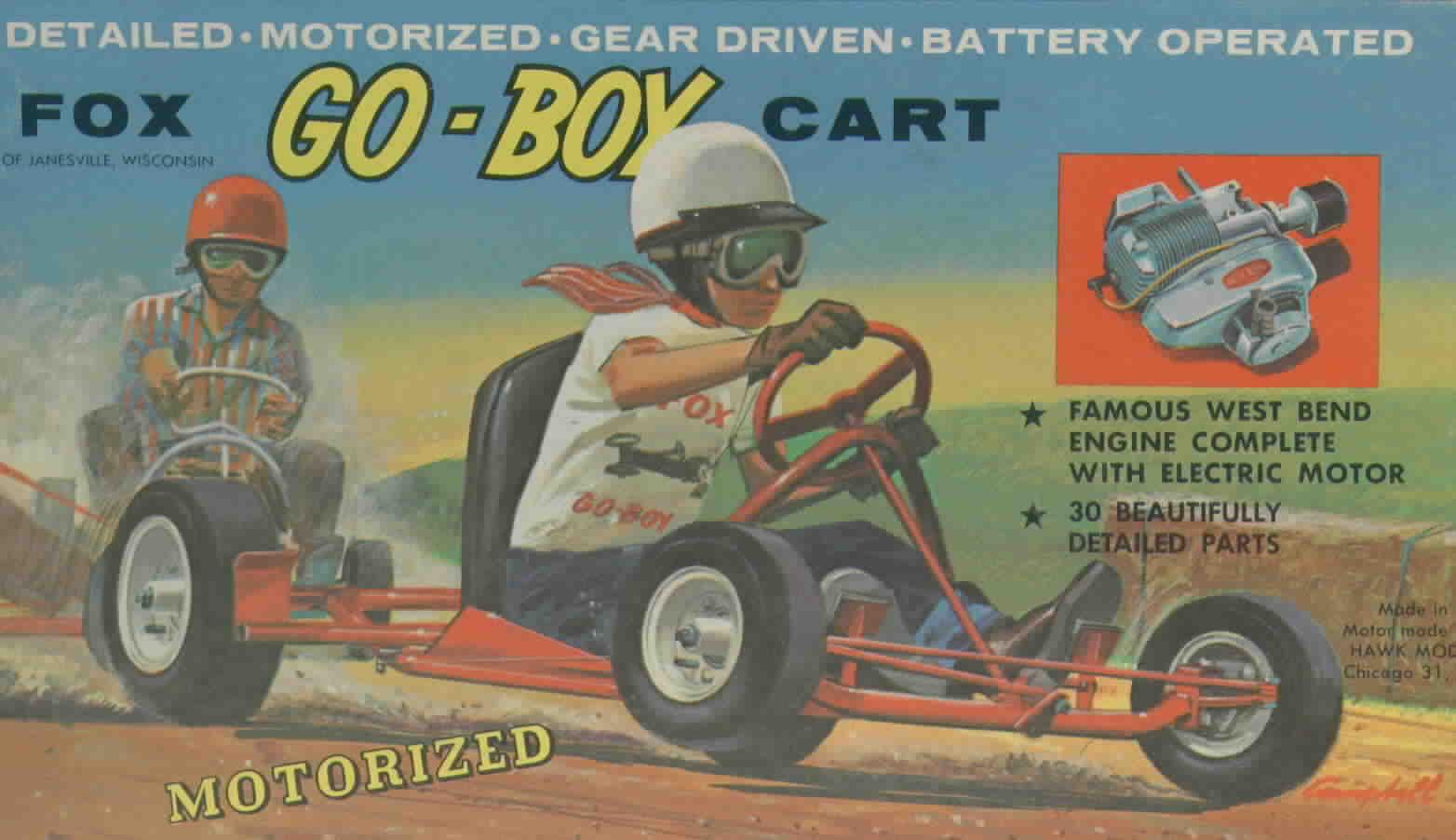 Fox Go Boy Model